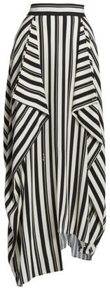 Loewe Stripe Maxi Skirt