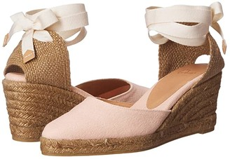 Castaner Joyce 60 Wedge Espadrille (Rosa Palo) Women's Shoes