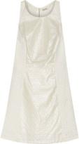 Suno Broderie Anglaise Cotton Mini Dress
