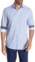 Construct Check Long Sleeve Stretch Fit Shirt