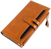 Artmi Womens Clutch Wallet Multi Function Wallet Extra Capacity for Phone