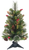 Crestwood National Tree Company 24-in. Fiber Optic Ice Artificial Christmas Tree