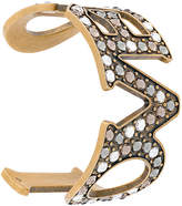 Gucci Loved Pendant Bracelet with Pearls
