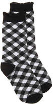HUE Hosiery Plaid Crew Socks - Women's