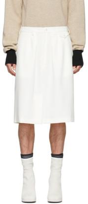 Off-White Random Identities Officer Skirt Shorts