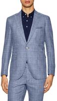 Michael Bastian Checkered Peak Lapel Sportcoat