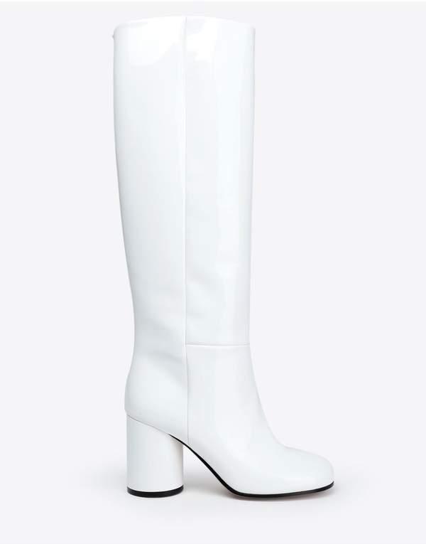 Maison Margiela Patent-Leather Boots