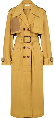 Fendi Large Patch Pockets Trench Coat