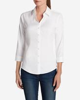 Eddie Bauer Women's Wrinkle-Free 3/4-Sleeve Shirt - Solid