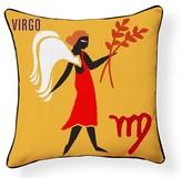 Virgo Indoor/Outdoor Throw Pillow Naked Decor