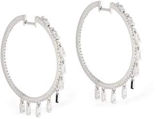 Talita Star Drops Hoop Earrings