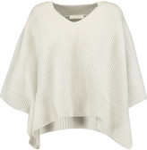 Chloé Draped ribbed cashmere sweater