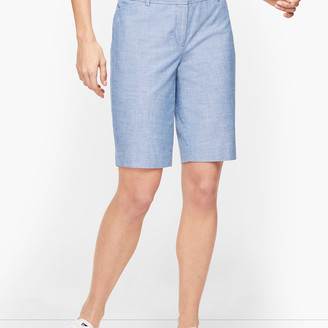 Talbots Perfect Shorts - Bermuda - Chambray