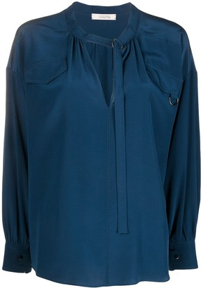 Dorothee Schumacher Fluid Volumes D-ring blouse