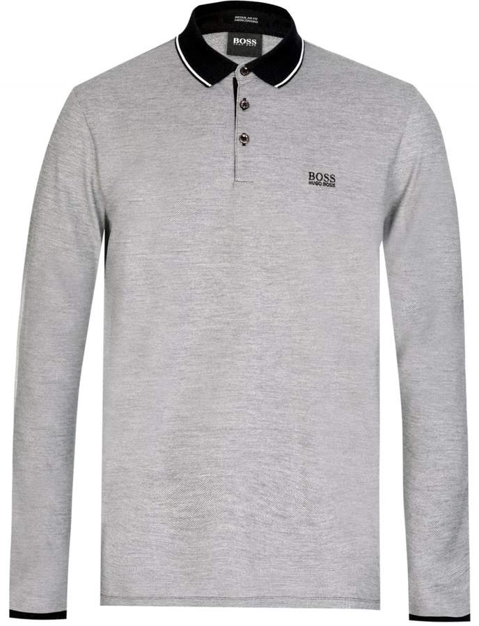 1ed40f02 Hugo Boss Long Sleeve Polo - ShopStyle UK