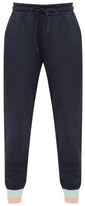 LNDR Trouble Cotton Track Pants - Womens - Navy