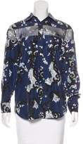 Timo Weiland Printed Button-Up Top