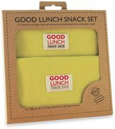 SugarBooger by o.r.e Good Lunch Set of 3 Snack Sack in Lemony Lime
