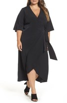 Melissa McCarthy Plus Size Women's Wrap Dress