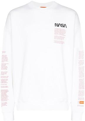Heron Preston Nasa print sweatshirt