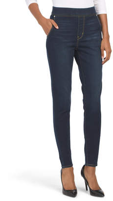 Signature High Rise Pull On Jeggings