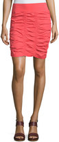 XCVI Heliconia Ruched Pencil Skirt, Daiquiri