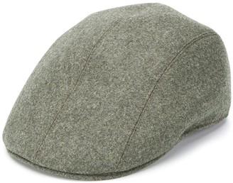 Brunello Cucinelli Woven Flat Cap