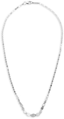 Lana Graduating Blush 14K White Gold Disc Chain Necklace