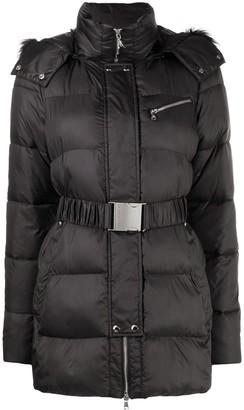 Patrizia Pepe Belted Puffer Jacket