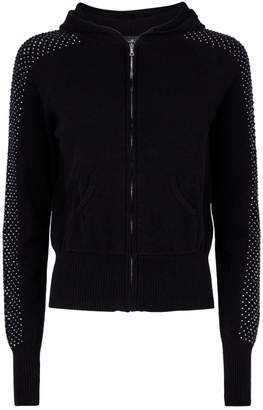 William Sharp Swarovski EmbellishedCashmere Hoodie