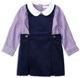 Ralph Lauren Infant Girls' Striped Blouse & Corduroy Jumper Set - Sizes 3-12 Months