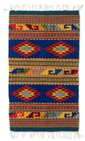 Novica Handcrafted Zapotec Wool 'Starfish' Rug (2x3'5) (Mexico)
