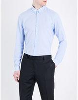 The Kooples Skull-pattern Classic-fit Cotton Shirt