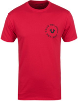 True Religion Ruby Red Crafted With Pride T-shirt