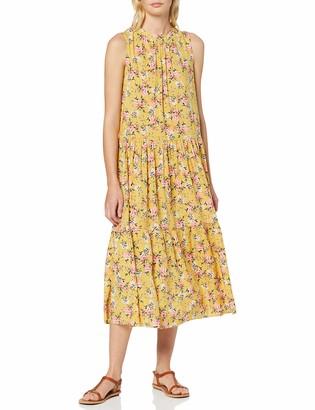 New Look Women's Ec Ryan Floral Tier Smock Midi (6248013) Dress
