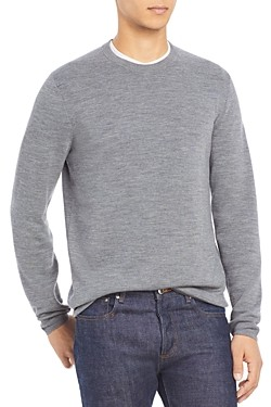 Theory Arnaud Erhart Wool Crew Neck Sweater