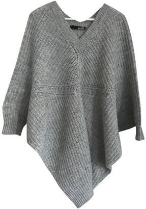 Moschino Love Grey Wool Knitwear for Women