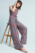 Donna Morgan Penny Wrap Wide-Leg Jumpsuit