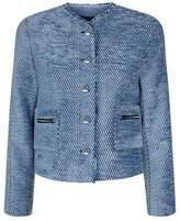 Sandro Textured Velvet Jacket