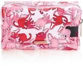 SKINNY DIP Pink Dino Make Up And Wash Bag