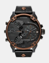 Diesel Mr Daddy 2.0 Black Chronograph Watch