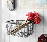 Pottery Barn Antique Zinc Basket