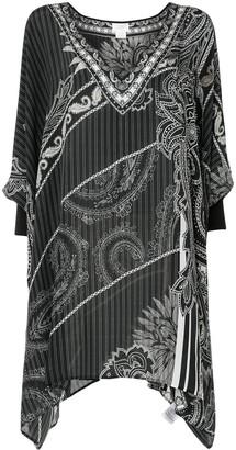 Camilla Paisley Print Silk Tunic