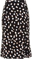Altuzarra Novak polka-dot stretch-crepe skirt