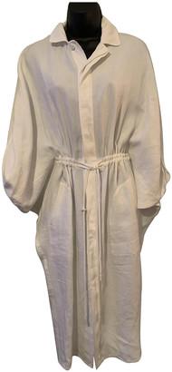 Ralph Lauren Purple Label White Linen Dresses
