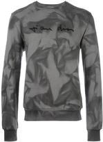 Christian Dior embroidered chest sweatshirt - men - Cotton - S