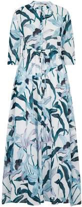 Tory Burch Cotton Desert Bloom Shirt Dress