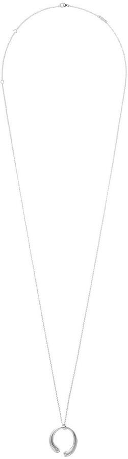 Georg Jensen Mercy large pendant necklace