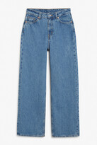 Thumbnail for your product : Monki Thea mid waist jeans