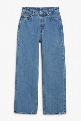 Monki Thea mid waist jeans